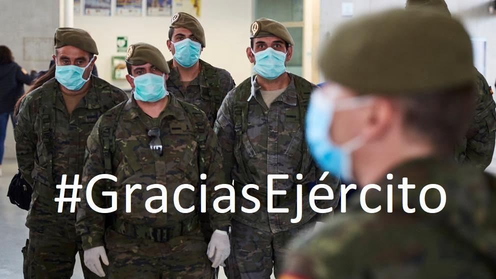 Concurso Gracias Ejército - Españoles de a pie